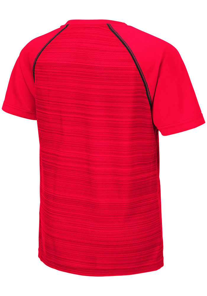 Colosseum Texas Tech Red Raiders Youth Red Buenos Aires Short Sleeve T-Shirt - Image 2