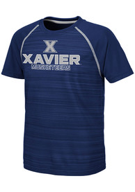 Xavier Musketeers Youth Colosseum Buenos Aires T-Shirt - Navy Blue