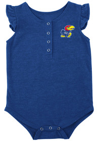 Kansas Jayhawks Baby Colosseum Kassel One Piece - Blue
