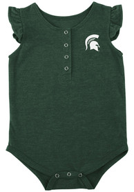 Michigan State Spartans Baby Colosseum Kassel One Piece - Green