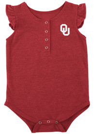Oklahoma Sooners Baby Colosseum Kassel One Piece - Crimson