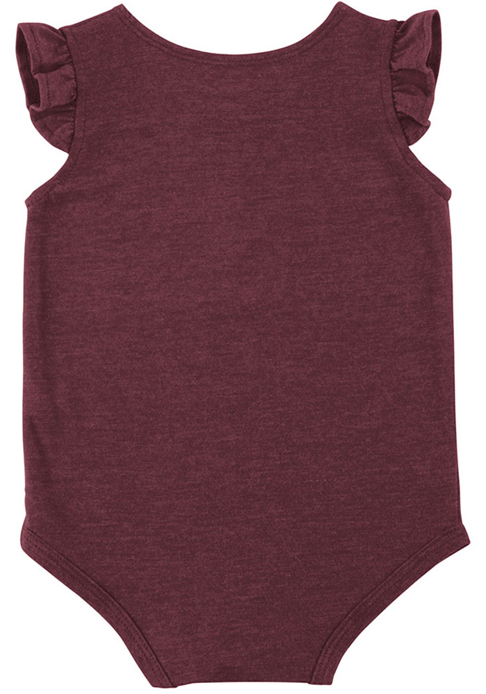 Colosseum Texas A&M Aggies Baby Maroon Kassel Short Sleeve One Piece - Image 2