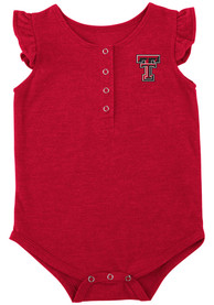 Texas Tech Red Raiders Baby Colosseum Kassel One Piece - Red