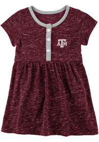 Texas A&M Aggies Baby Girls Colosseum Nuess Dress - Maroon