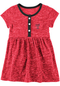 Texas Tech Red Raiders Baby Girls Colosseum Nuess Dress - Red
