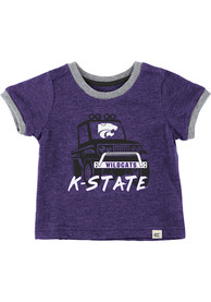 K-State Wildcats Infant Colosseum Mud Flap T-Shirt - Purple