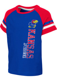 Kansas Jayhawks Toddler Colosseum Edmonton T-Shirt - Blue
