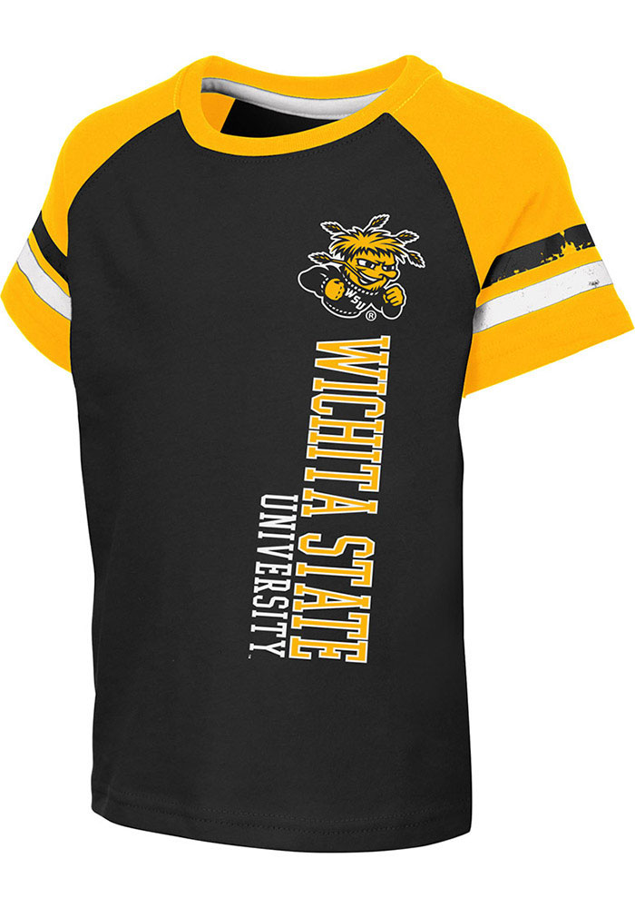 Colosseum Wichita State Shockers Toddler Black Edmonton Short Sleeve T-Shirt - Image 1