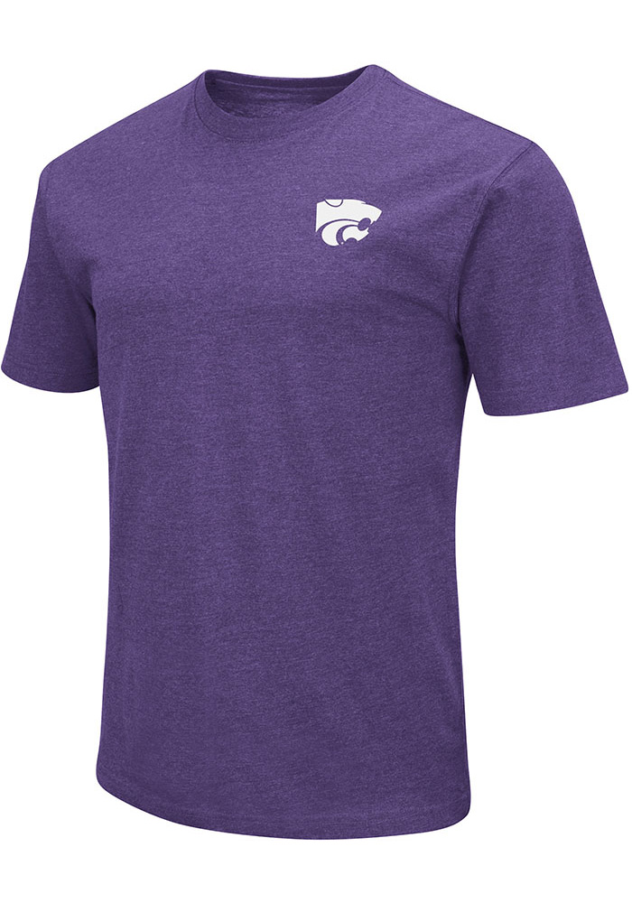 Colosseum K-State Wildcats Purple College Town Tee