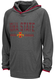 Iowa State Cyclones Youth Colosseum Narf Hooded Sweatshirt - Grey