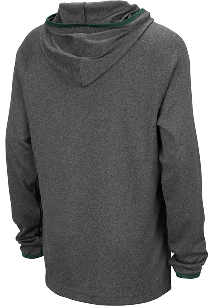 Colosseum Michigan State Spartans Youth Grey Narf Long Sleeve Hoodie - Image 2