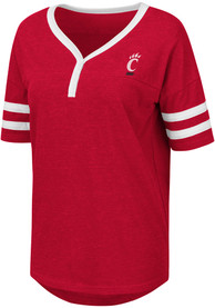 Cincinnati Bearcats Womens Colosseum Florence T-Shirt - Red