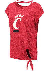 Cincinnati Bearcats Womens Colosseum Como T-Shirt - Red