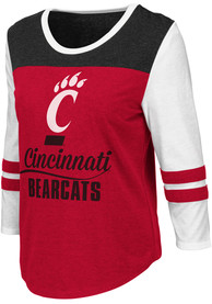Cincinnati Bearcats Womens Colosseum Palermo T-Shirt - Red