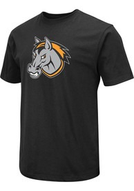 Kansas City Mavericks Colosseum Logo T Shirt - Black