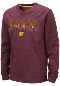 Central Michigan Chippewas Youth Colosseum Zort T-Shirt - Maroon