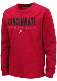 Cincinnati Bearcats Youth Colosseum Zort T-Shirt - Red