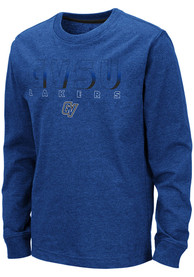 Grand Valley State Lakers Youth Colosseum Zort T-Shirt - Blue