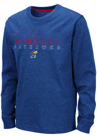 Kansas Jayhawks Youth Colosseum Zort T-Shirt - Blue