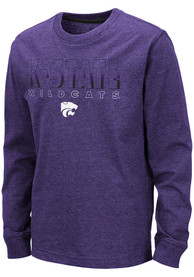 K-State Wildcats Youth Colosseum Zort T-Shirt - Purple