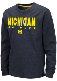 Michigan Wolverines Youth Colosseum Zort T-Shirt - Navy Blue
