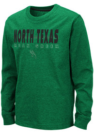 North Texas Mean Green Youth Colosseum Zort T-Shirt - Kelly Green