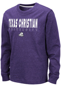 TCU Horned Frogs Youth Colosseum Zort T-Shirt - Purple