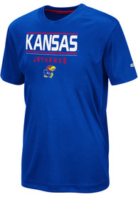 Kansas Jayhawks Youth Colosseum Skippy T-Shirt - Blue