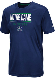 Notre Dame Fighting Irish Youth Colosseum Skippy T-Shirt - Navy Blue