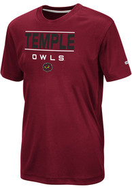 Temple Owls Youth Colosseum Skippy T-Shirt - Red