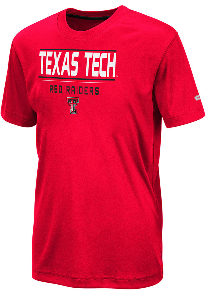Colosseum Texas Tech Red Raiders Youth Red Skippy Short Sleeve T-Shirt - Image 1
