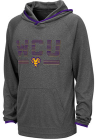 West Chester Golden Rams Youth Colosseum Narf Hooded Sweatshirt - Grey