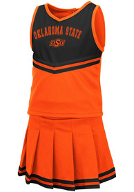 Oklahoma State Cowboys Toddler Girls Colosseum Pinky Cheer - Orange