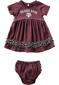 Texas A&M Aggies Baby Girls Colosseum Lucky Dress - Maroon