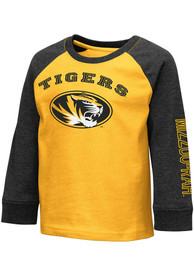 Missouri Tigers Toddler Colosseum Animaniacs T-Shirt - Gold