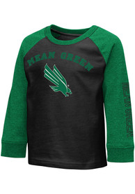 North Texas Mean Green Toddler Colosseum Animaniacs T-Shirt - Black