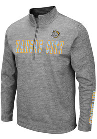 Kansas City Mavericks Colosseum Bart 1/4 Zip Pullover - Grey