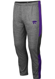K-State Wildcats Colosseum Bart Pants - Grey