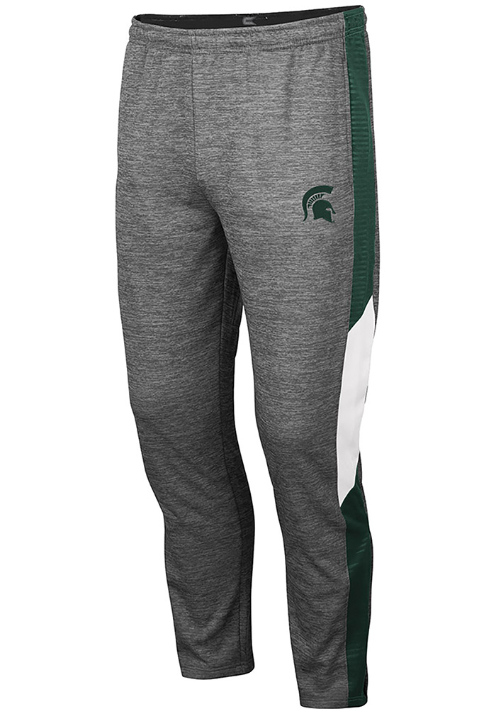 Colosseum Michigan State Spartans Mens Grey Bart Pants - Image 1