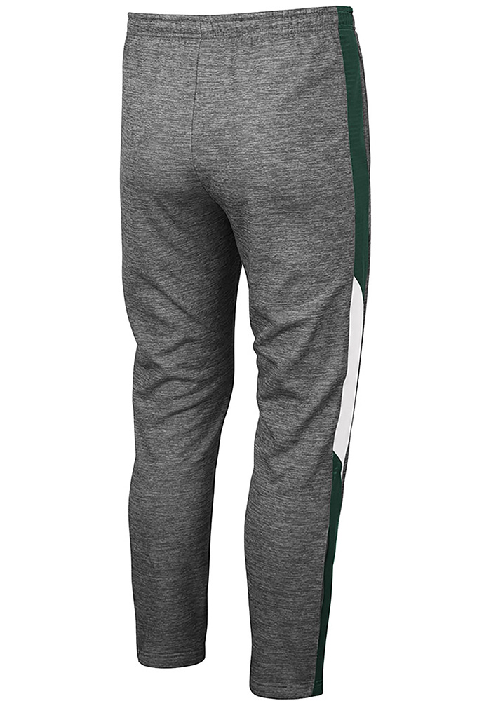 Colosseum Michigan State Spartans Mens Grey Bart Pants - Image 2
