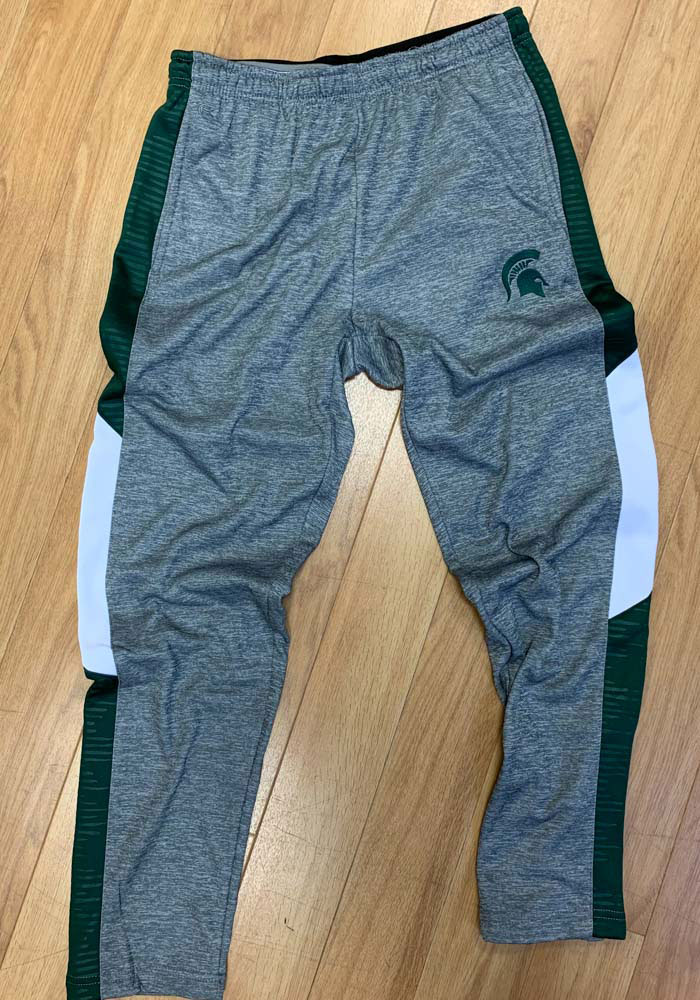 Colosseum Michigan State Spartans Mens Grey Bart Pants - Image 3