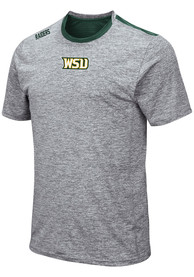 Wright State Raiders Colosseum Bart T Shirt - Grey
