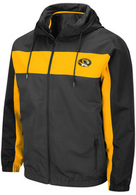 Missouri Tigers Colosseum Brockman Light Weight Jacket - Charcoal