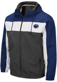 Penn State Nittany Lions Colosseum Brockman Light Weight Jacket - Charcoal