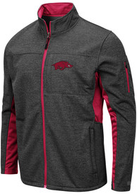 Arkansas Razorbacks Colosseum Bumblebee Light Weight Jacket - Grey