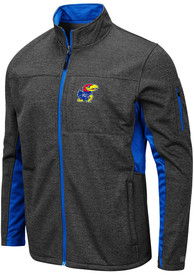 Kansas Jayhawks Colosseum Bumblebee Medium Weight Jacket - Grey