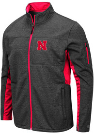 Nebraska Cornhuskers Colosseum Bumblebee Light Weight Jacket - Grey