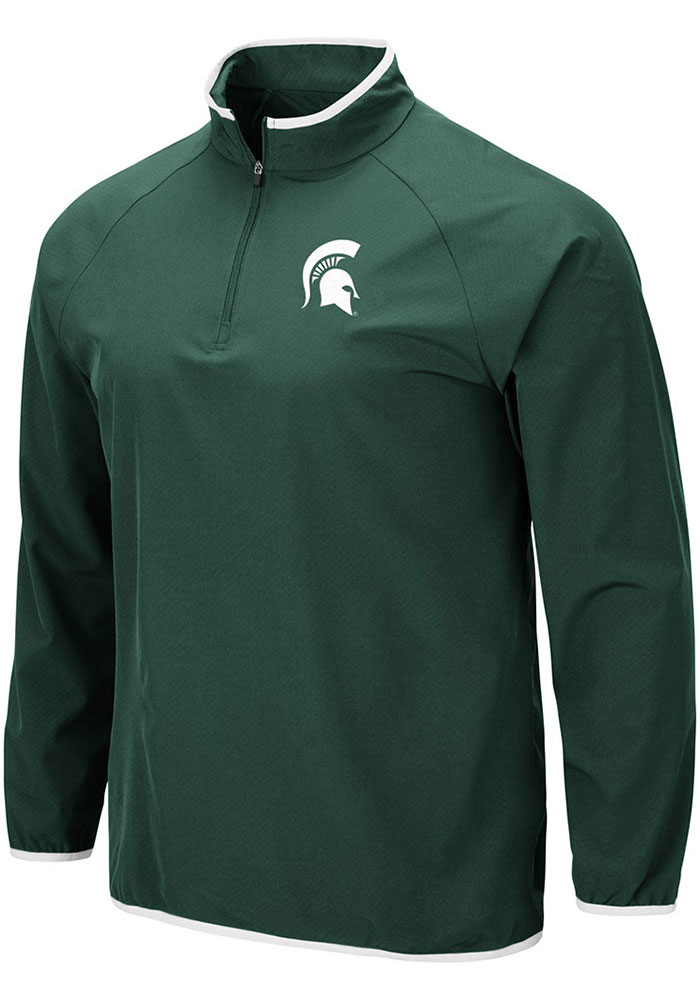 Michigan State Spartans Colosseum Chalmers 1/4 Zip Pullover - Green