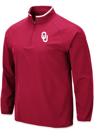 Oklahoma Sooners Colosseum Chalmers 1/4 Zip Pullover - Cardinal