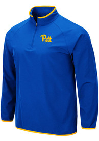 Pitt Panthers Colosseum Chalmers 1/4 Zip Pullover - Blue